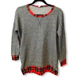 Pink Blush Maternity | Shirttail Sweater (s)